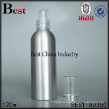 aluminum water mist pump spray bottle