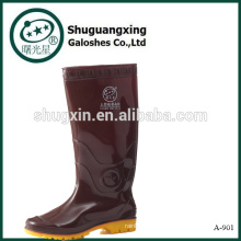 Cowboy goma lluvia zapatos A-901 de los hombres