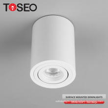 TOSEO Llighting Custom Made Good Quality Downlights Die-cast Aluminum Led Ceiling Light COB Surface Mounted Ceiling Light