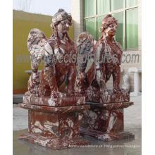 Escultura de jardim escultura pedra estátua de mármore (sy-x1777)