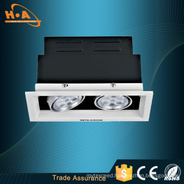 Hot Sale Heat Dissipate Square LED Ceiling Grille Light