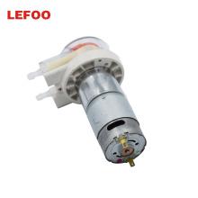 LEFOO LFP204 24V 12v DC Motor Mini Electric Peristaltic Metering Pump peristaltic pump dosing with wat pip