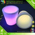 Home Decorative Resin LED Lighting Garden Flower Pot