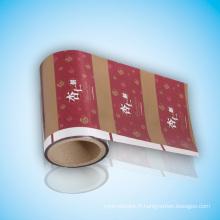 Film d'emballage pour matériel d'emballage aluminisant