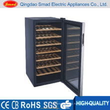 34 Bottles Wine Cooler with Glass Door