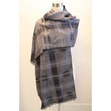 Senhora fashion viscose tecido jacquard franjas xaile (yky4412-1)