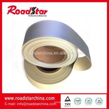 Hi-Vis reflektierende PVC-Schaum Leder