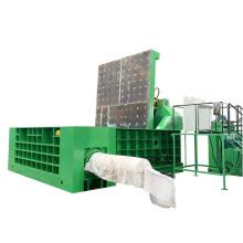 Máquina compactadora de processamento de sucata de aparas de metal