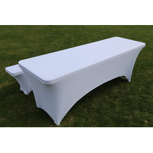 6FT Table and Bench Set with Table Cover