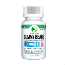 Made in USA 10mg CBD Infused Gummies Gummy bears Vegan Pectin CBD