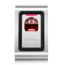 Metal case fingerprint gate access control rfid card entry lock door system