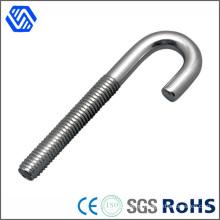 Carbon Steel Zinc Plated Hook Bolt High Strength Anchor Hilti J Bolt