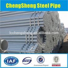 Spiral ERW welded steel pipe galvanized G.I. welded pipe tube