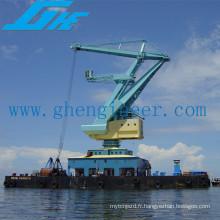 Portail décharger Grue à navire mobile