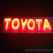 Hohe Qualität LED voll beleuchtet beleuchtete große Zeichen Kanal Buchstaben