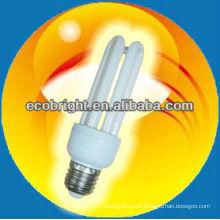 energiesparende Lampe 3U 12mm 8000H CE Qualität