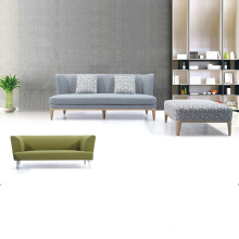 Modern Home Design Furniture Wooden Fabric Sofa