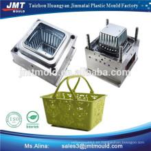 moldes de cesta de compras de inyección de plástico