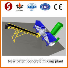 New patented MD1800 mobile concrete batching plant