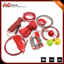 Elecpopular Color caliente modificado para requisitos particulares de la parada de emergencia del color LockOut