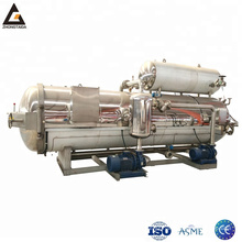 immersing industrial retort autoclave sterilizer / hot water canning cooking retort autoclave