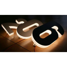 Apartment Building Outdoor Brushed Stainless Steel House Room Number Sign