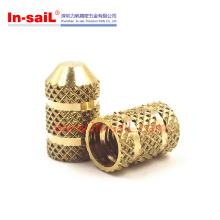 Blind Hole Knurled Brass Threaded Insert Nut