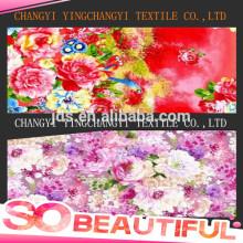 Tissu imprimé en polyester