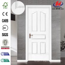 JHK-005 Mdern Design Partical Board Whiter Primer Rose HDF Door