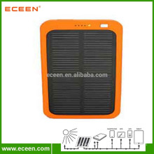 Factory price solar panel 5V portable mobile solar power bank 5000 mah for mobile phone charging