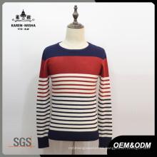 Suéter de cuello redondo de estilo básico para hombres