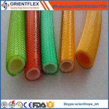 Высокое растяжимое подкрепление полиэфира PVC высокий шланг Брызга давления