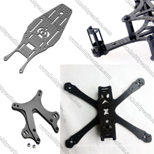 7.0x400x500mm Drone Parts Folha de fibra de carbono