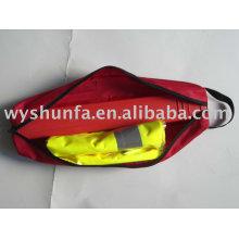 Комплект безопасности для автомобиля / набор для обеспечения безопасности на дороге / комплект треугольных предупреждений / спасательный жилет CE