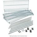 NSF Commercial 6 Tiers Heavy Duty Steel Lee Rowan Wire Shelving