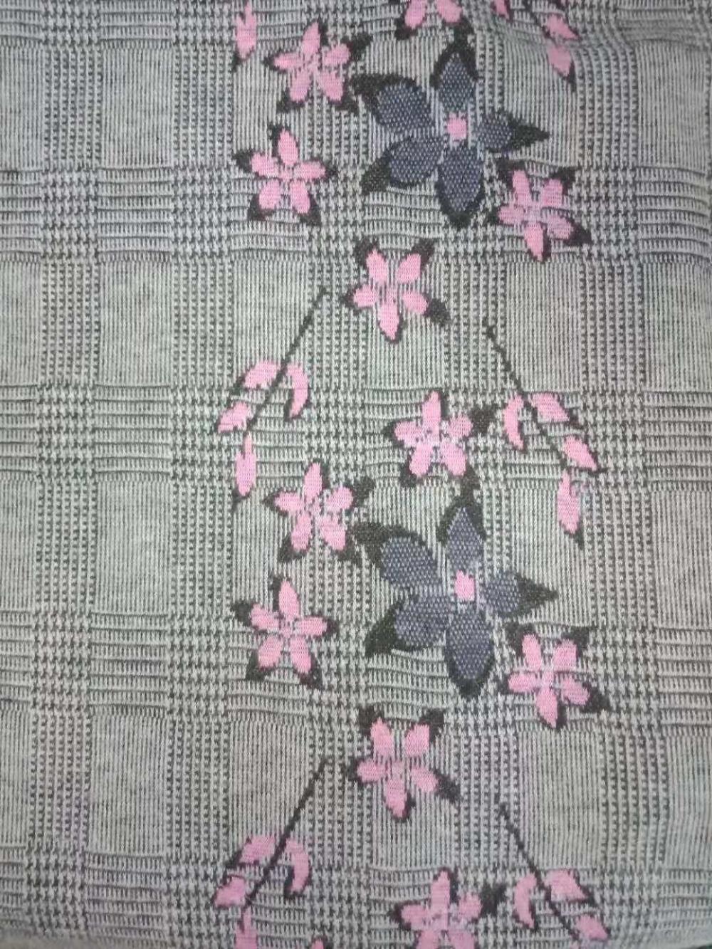 Printed Textile Jacquard Cloth