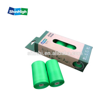 Tas Limbah Rolls Portable Holder Tas Kotoran Degradable