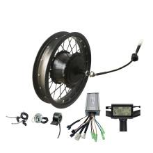 48v 500w 750w 16inch electric bike conversion kit