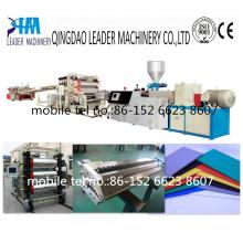 Máquina de extrusión de hoja / tablero de decoración de plástico PVC espuma