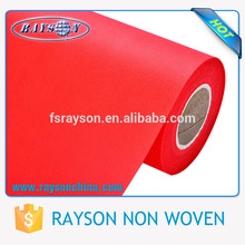 Recycled non-woven fabric used for eco bags,furniture,table cloth