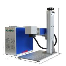 High Speed mini RF enclosed co2 fiber laser marking machine price 50w