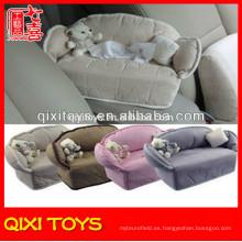 Caja de pañuelos súper de moda del coche del estilo del sofá con el oso de peluche