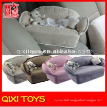 Sofa style super fashionable car tissue box with teddy bear