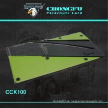 Segurança Cartão de crédito Folding camping Knife