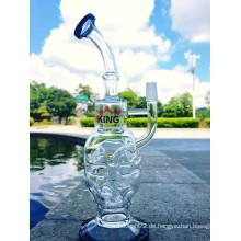 Faberge Ei Wasser Rohr Recycler Rohre Öl Rig Dabs Glas Rohr
