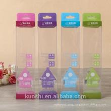 Custom packaging clear PVC PET transparent plastic box