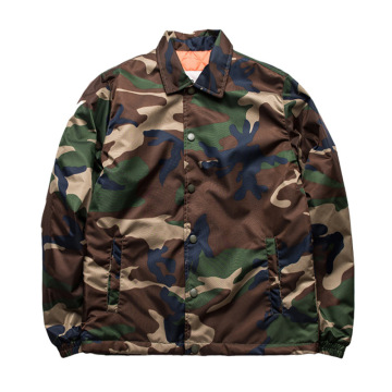 Custom High Quality Coaches Quilted Jacket for Sale