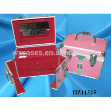 pink aluminum hairdressing case from China HZ11325