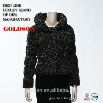 2016 Fashionable Beautiful Elegant Short Coat Type Women Spring Down Jacket without Hood