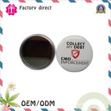 Cadeaux de promotion Logo personnalisé Logo de l'entreprise Miroir de maquillage bon marché